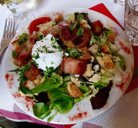 ... Kitchen - Recipe Journal - Recipe: Lyonnaise Salad {Salade Lyonnaise
