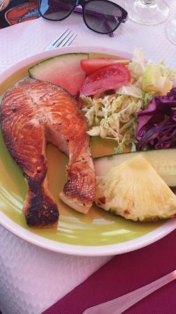 Restaurante Embaixador Madeirense: Pavé de saumon