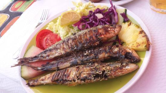 Restaurante Embaixador Madeirense: Sardine grillées