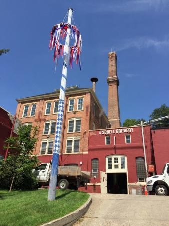 August Schell Brewery: Brewery
