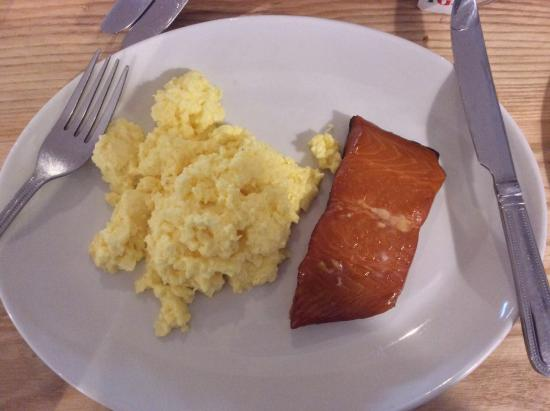 Salmon And Egg Bepreakfast Choice Picture Of Fishermans