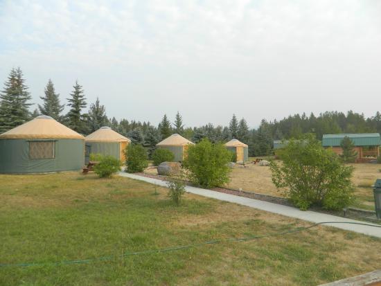 North American RV Park & Yurt Village: all 4 yurts