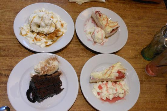 Blueberrys: Scrummy puds at Blueberry's!