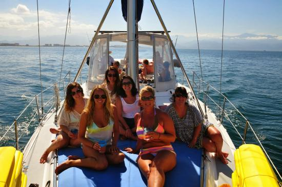 Red Dolphin Sailing Charters: The girls