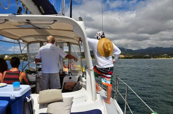 Red Dolphin Sailing Charters: View