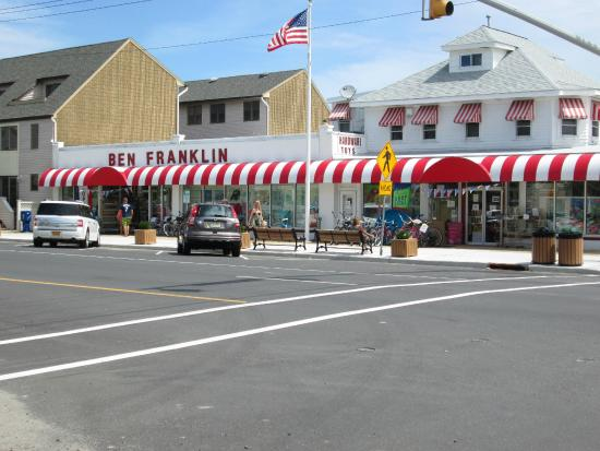 Ben Franklin 5-10 store, Grand Central Ave(Rt.35) and Washington Ave., Lavallette