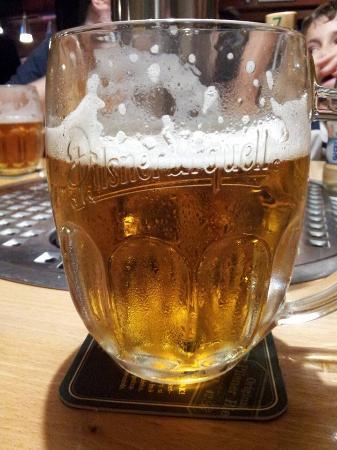 The PUB Praha 2 : Pilsner beer!