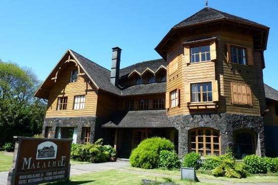 Hotel Malalhue: Fachada