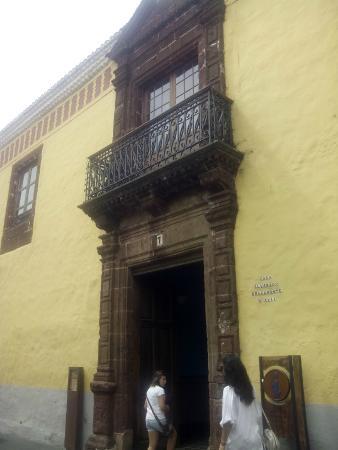 Tourist Information Office La Laguna: Casa Alvarado Bracamonte