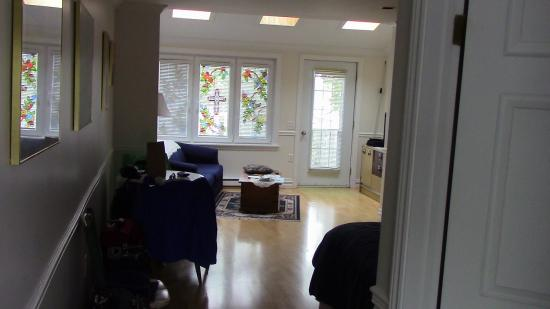 The Worn Doorstep: Our room 1