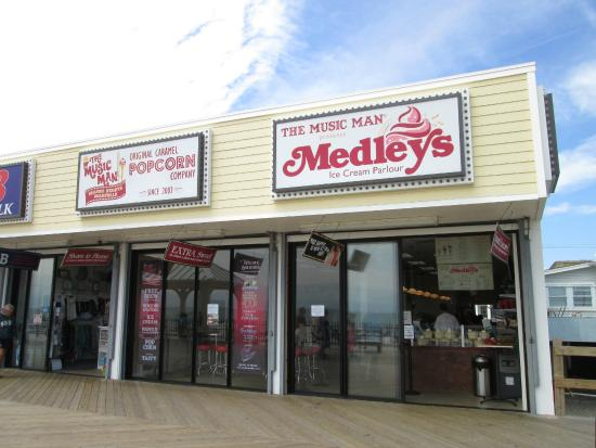 Seaside Heights, NJ: Medley's storefront