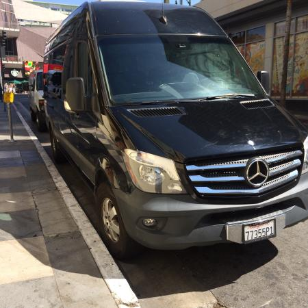 Guideline Tours: Luxury new Mercedes Sprinter.