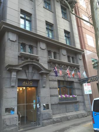 Alto Breakfast Menu Picture Of Alto Hotel On Bourke