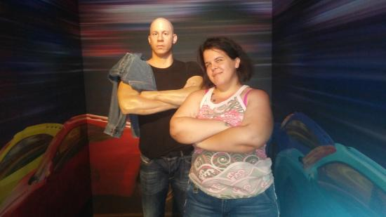 Hollywood Wax Museum: Vin Diesel exhibit