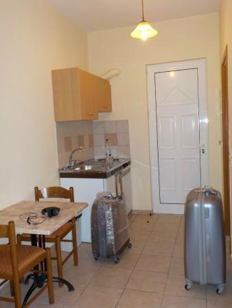 Stegna Mare Apartments : Kitchen corner