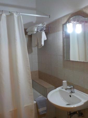 Stegna Mare Apartments : Super clean bathroom