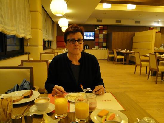 Hotel Bristol Sarajevo : refeitório