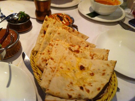 Krishna: Nan Bread.