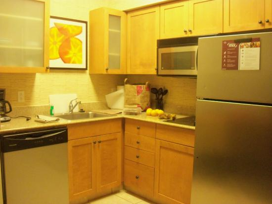 Residence Inn San Antonio North/Stone Oak: Convenience of a kitchenette