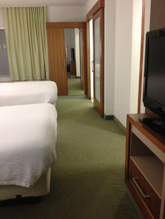 SpringHill Suites Columbia: View from the sofa area