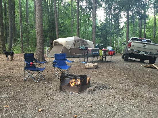 Fort Loudon, Pennsylvanie : Amazing camping trip 😀