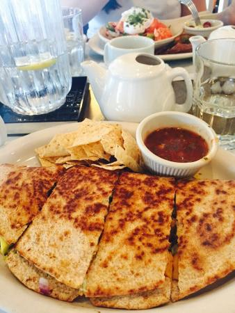 Turning Point : Lobster quesadilla & Lobster Benedict