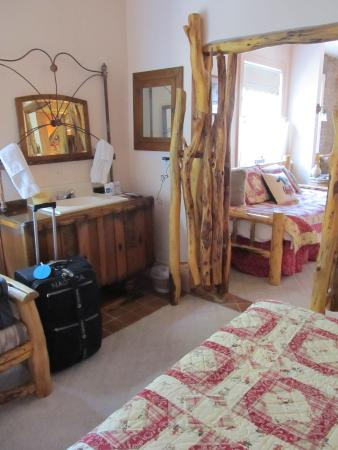 Union, ออริกอน: Huffman Suite Living Room/Bedroom
