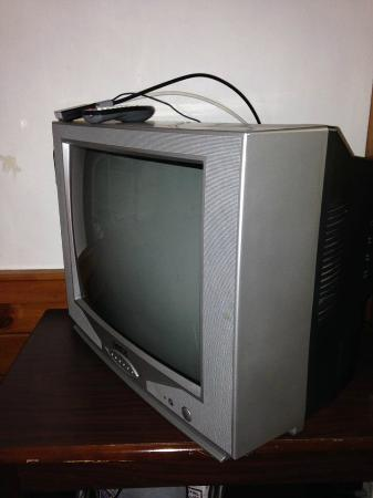 Bass River Motel: Very old TV, I never turned it on.
