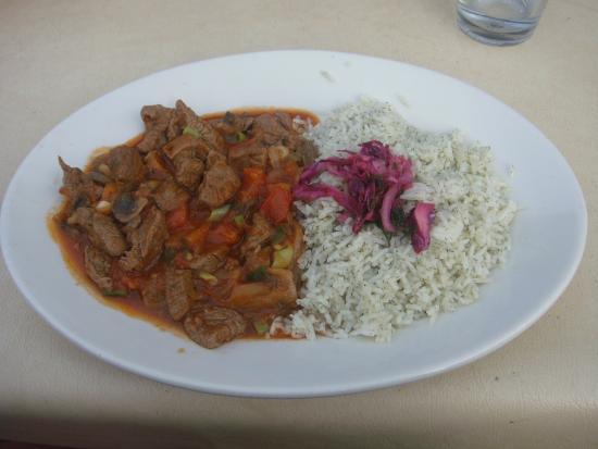Harbert, MI: Typical main dish