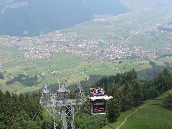 Best Of Switzerland Tours Aerial Cable Car At Mt Stanserhorn
