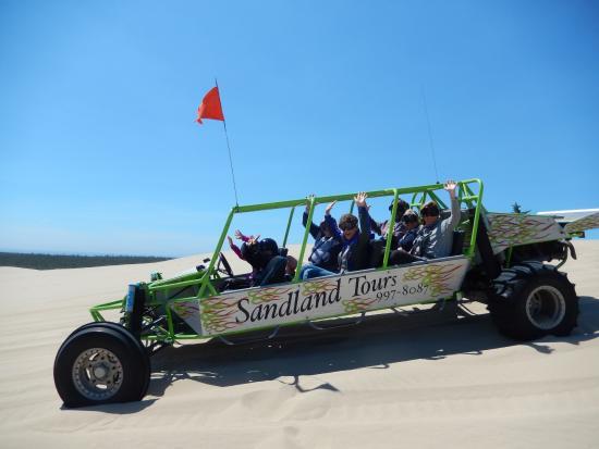 Florence, Oregón: A Sandland dune buggy