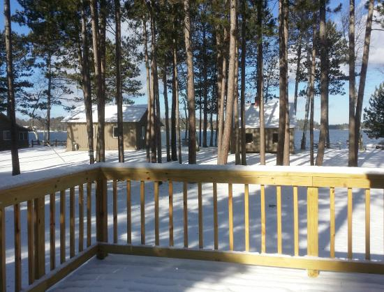 Saint Germain, WI: Cabin 5 is open in the winter and lovely!