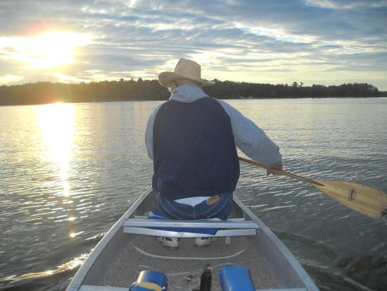Saint Germain, WI: User our canoes from any cabin!