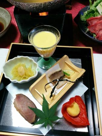 Echizen Mangetsu: 前菜