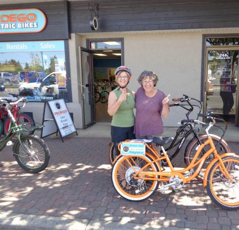 Pedego Electric Bikes: Ruby meets Ruby!