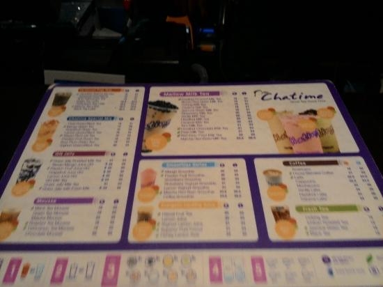 Menu - Picture of Chatime Plaza Surabaya - TripAdvisor