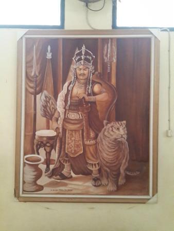 Cirebon, Indonesia: Lukisan Prabu Siliwangi Keraton Kasepuhan
