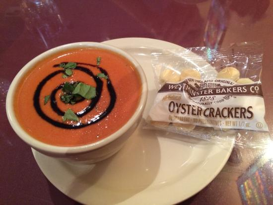 Valley Cafe: Tomato Bisque for Lunch