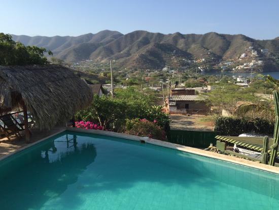 Hotel Casa Los Cerros Taganga Foto