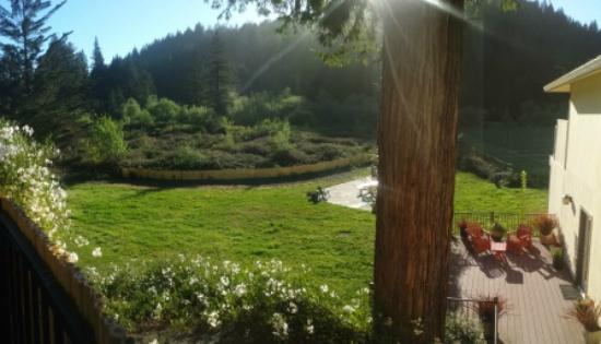 West Sonoma Inn & Spa: View from front patio