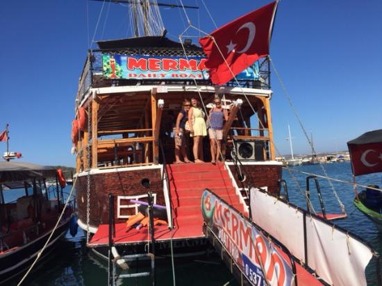 Akbuk, Turkey: Welcome on board The Mermaid