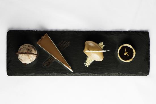 Lenzerheide Restaurant : dessert plate