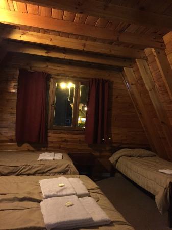 Cabanas Nevis: One bedroom cabin upper floor