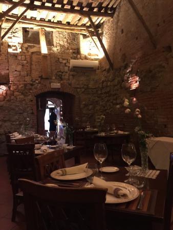 Osteria da divo picture of antica osteria da divo siena tripadvisor - Ristorante da divo siena ...