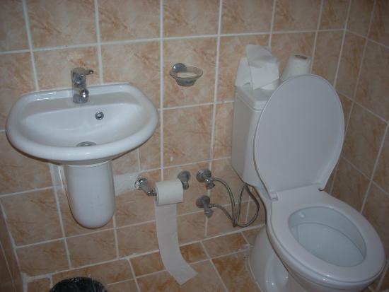 Duman Hotel: Ванная комната