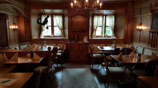 Zum Lamm: The dining room