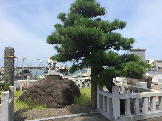 The Rock Where the Godaigo Emperor Sat