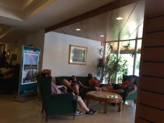 Hotel Riu Playa Park : Aula Halle