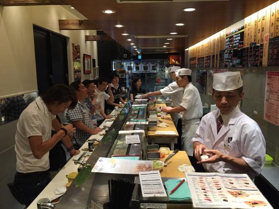 元祖立ち喰い寿司 魚がし日本一 渋谷センター街店>