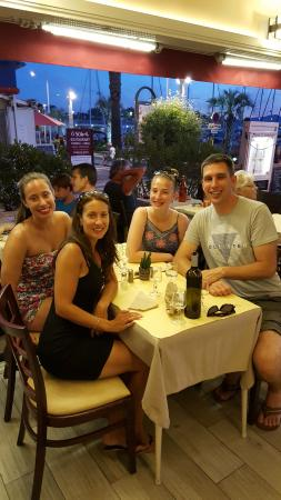 Le Thimotee : Enjoying a local restaurant